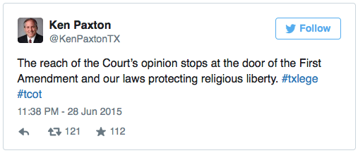 "You'll notice how he refers to the Court's decision as an ""opinion"""