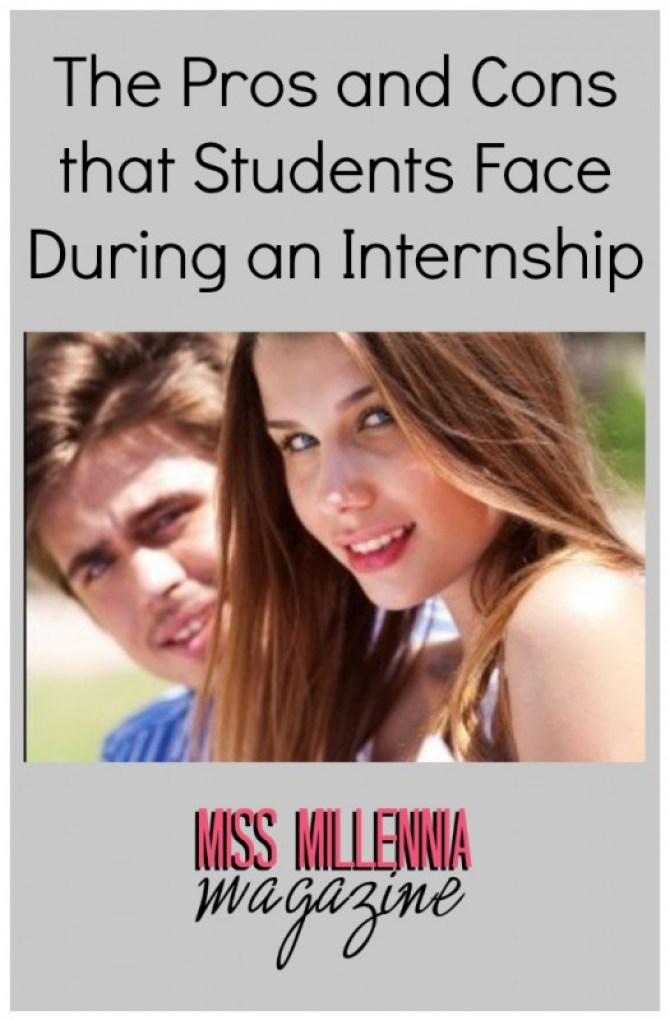 The Pros and Cons that Students Face During an Internship