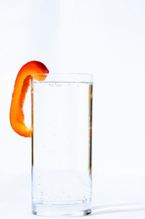 glass of water to cut calories