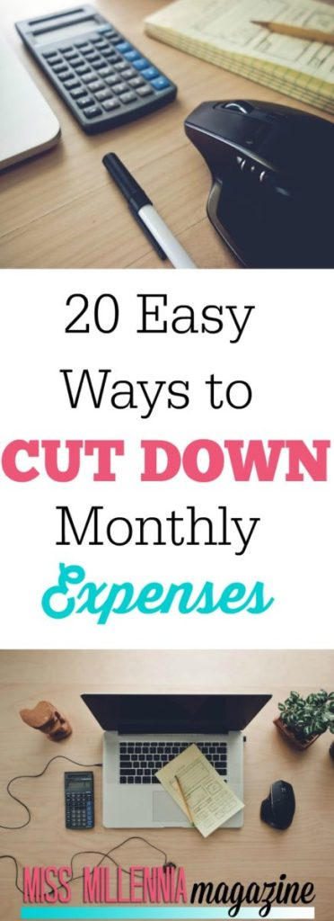 Paying for all of your monthly expenses can be stressful and prevent you from dong the things you want, see our 20 easy ways to cut down on your bills.