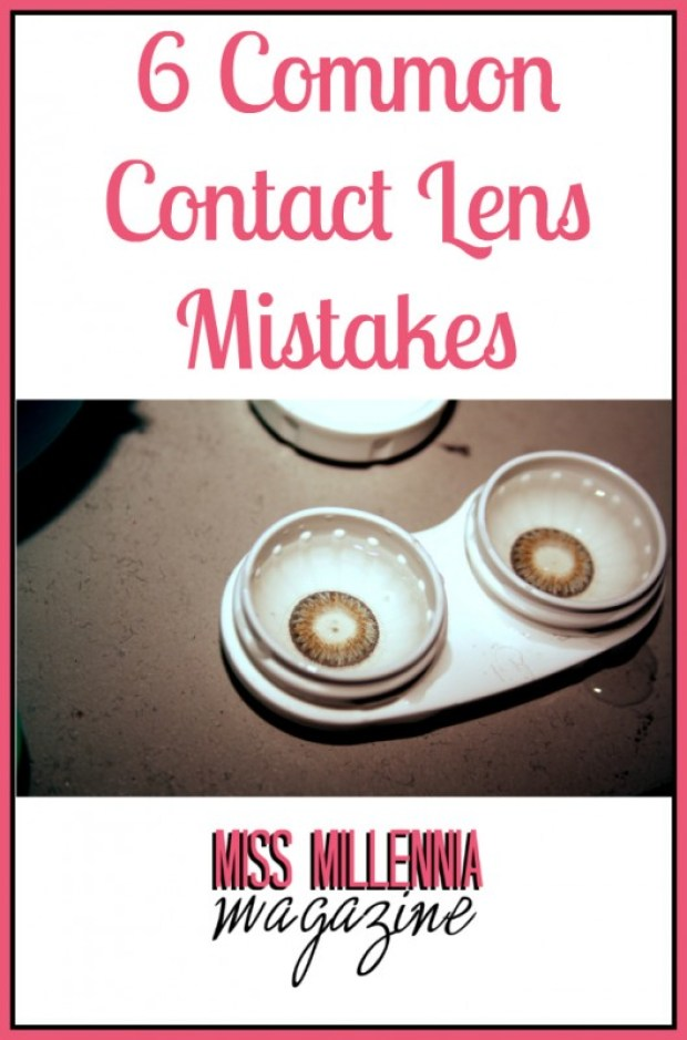 6 Common Contact Lens Mistakes