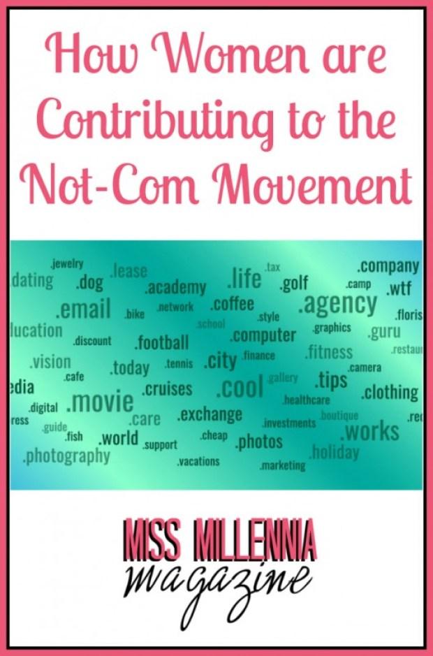 Not-Com Movement