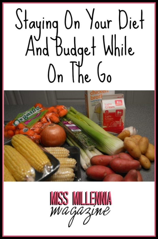 Staying On Your Diet And Budget While On The Go