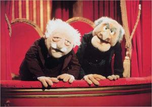 Muppet critics giving criticism