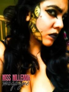 steampunk halloween makeup