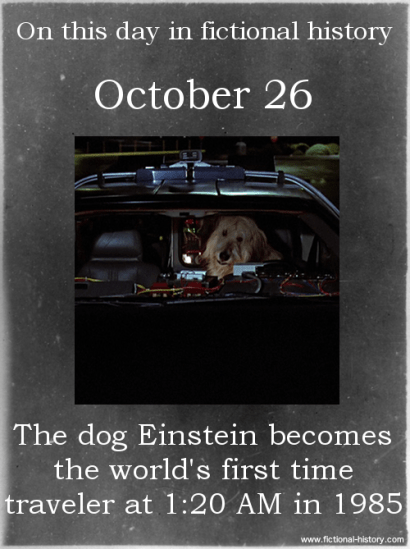 back to the future movie einstein dog