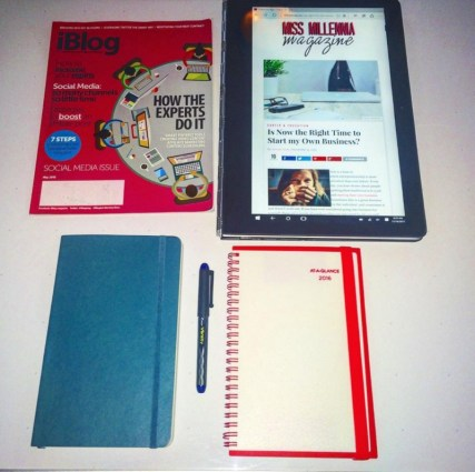 A planner makes it easy to plan
