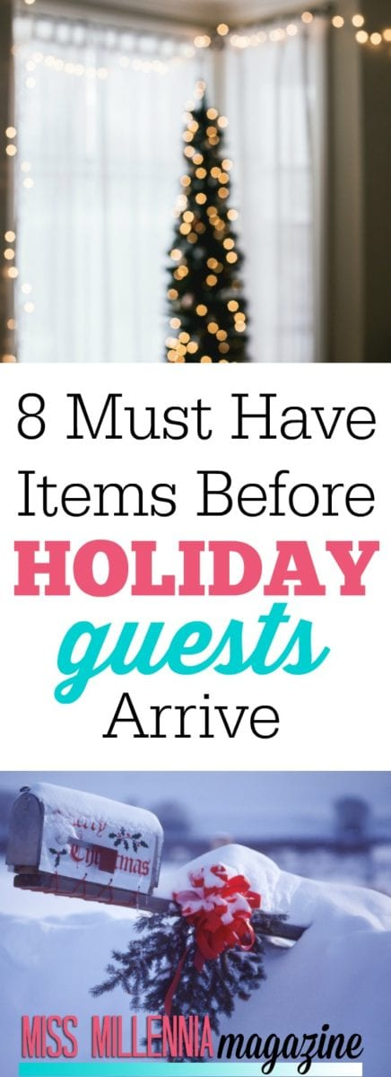 Are you hosting for the holidays? My list of must-have items is perfect to ensure your holiday guests have fun and also feel comfortable.