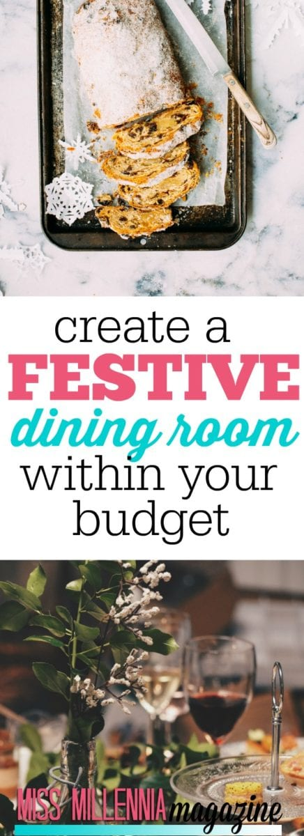 Festive dinners among friend are quickly becoming more and more popular with Millennials. Learn how to create a great space on a budget!