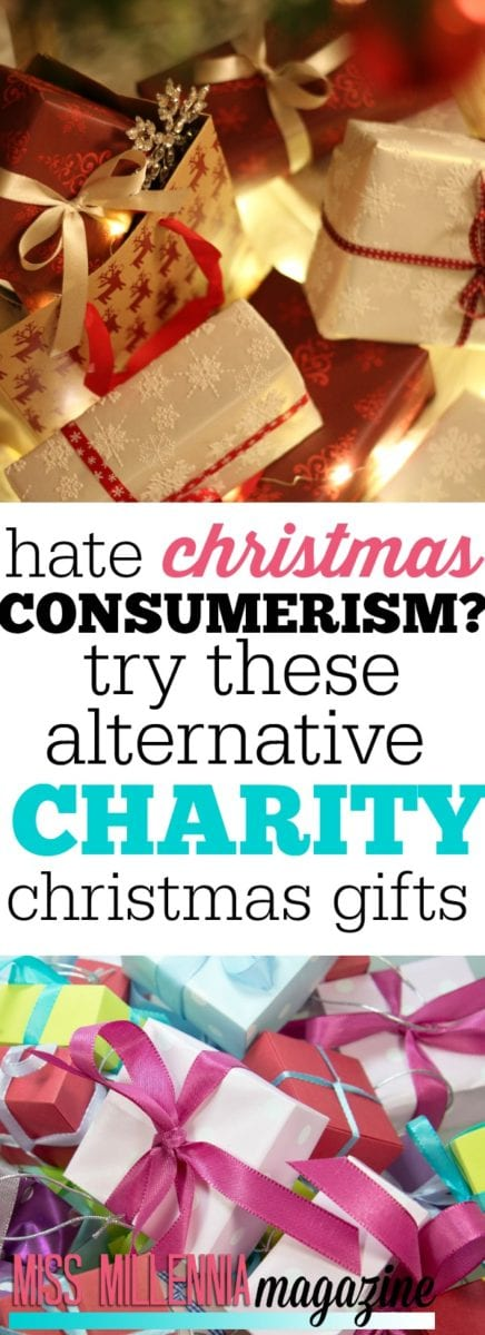 Christmas consumerism can make you realize how little you need, and how much others need. This year, give the gift of charity.
