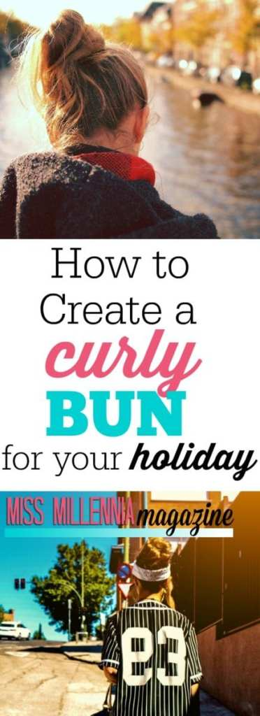 Need a new hairstyle for the holiday? Doing your own hair can be a little intimidating. But in this video, I show you how to create the perfect curly bun.