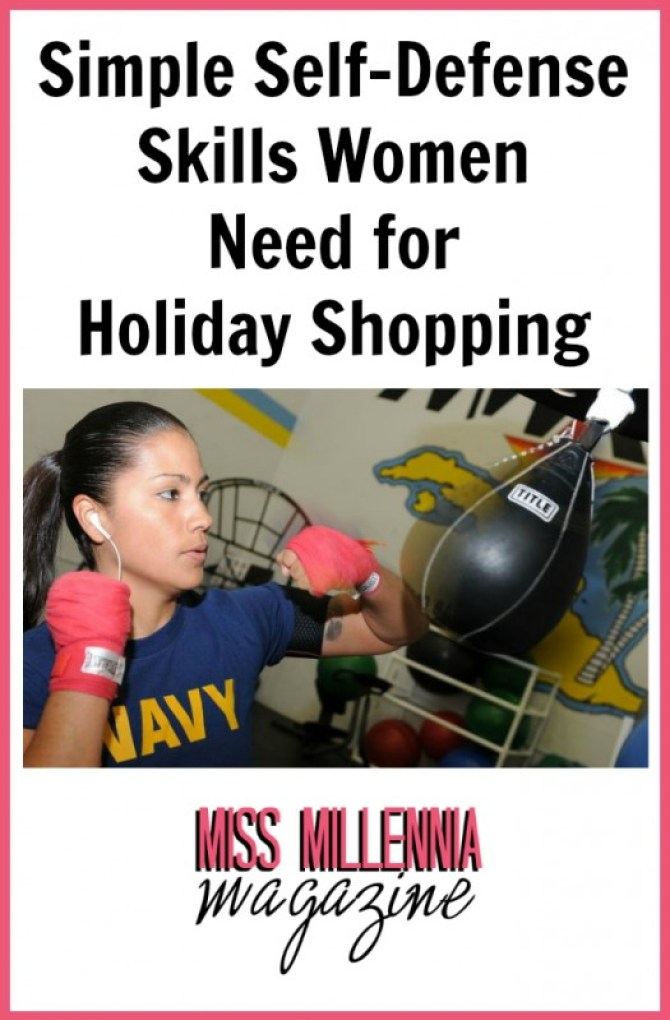 Simple Self-Defense Skills Women Need for Holiday Shopping