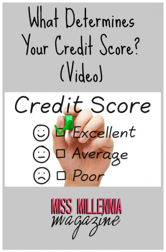 What Determines Your Credit Score? (Video)