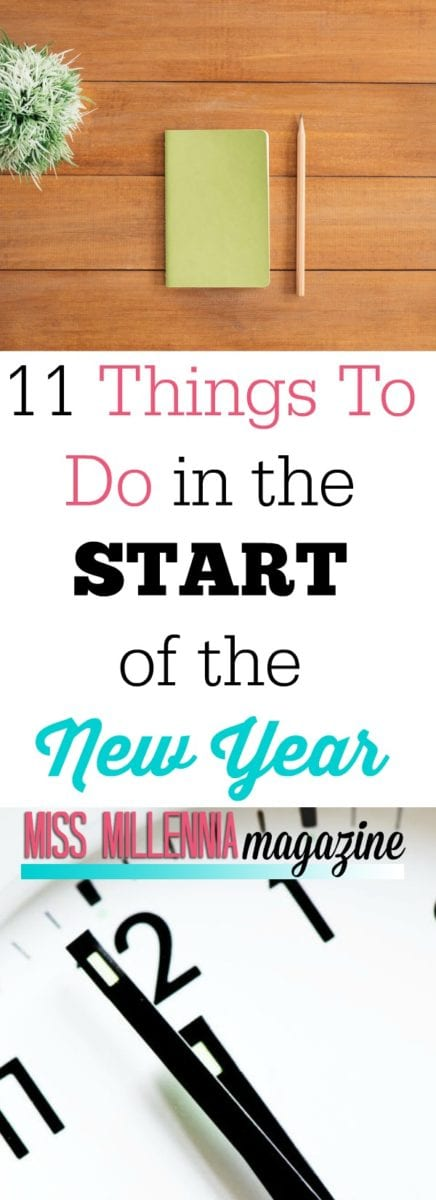 11 Things to Do in the Start of the New Year