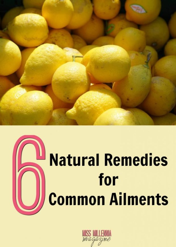 6 Natural Remedies for Common Ailments