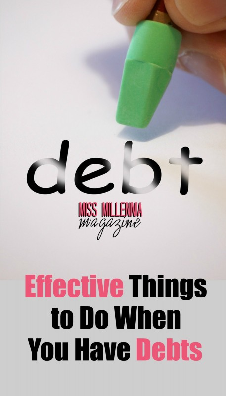 Effective Things to Do When You Are In Debt