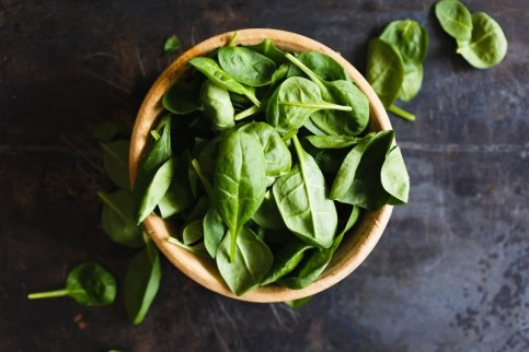 prevent hair loss spinach