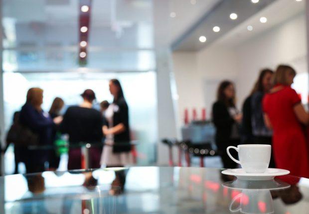 Women Socializing Office Gender Politics