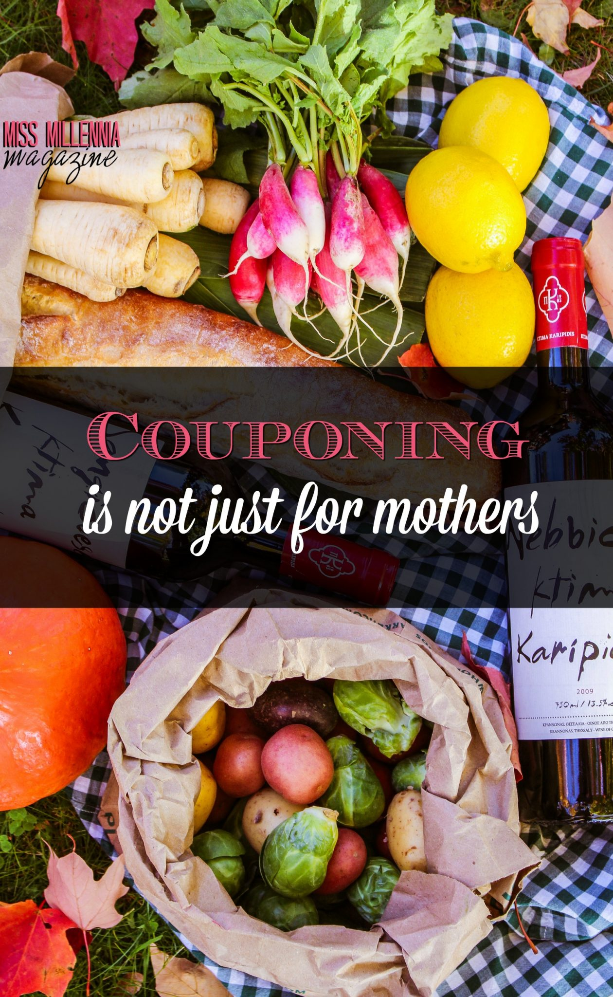 Couponing Is Not Just for Mothers