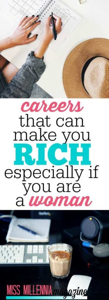 Everybody wants a job where they can bring home the bacon. Here are some of the best careers that make you rich- especially for women!