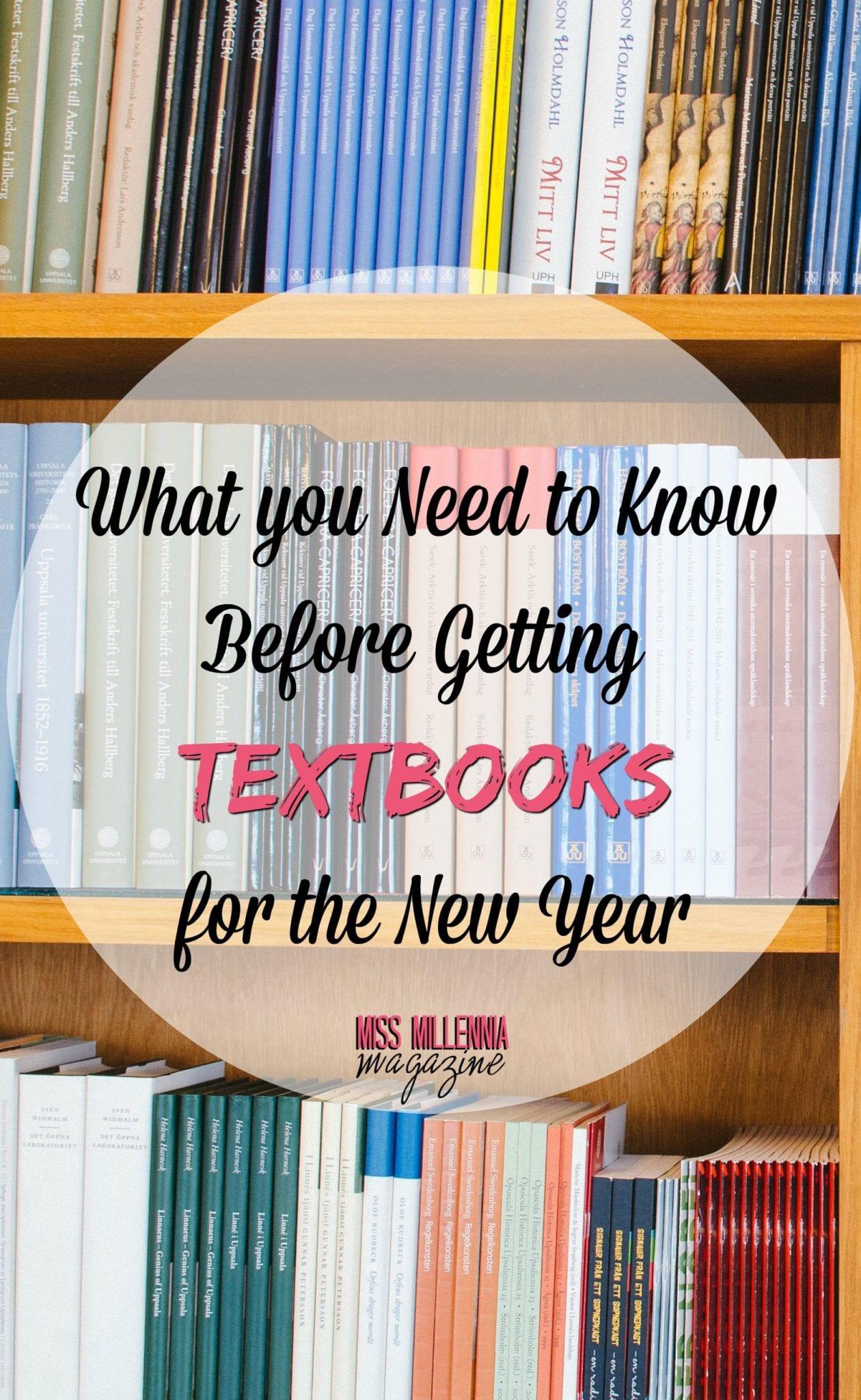 What you Need to Know Before Getting Textbooks for the New Year
