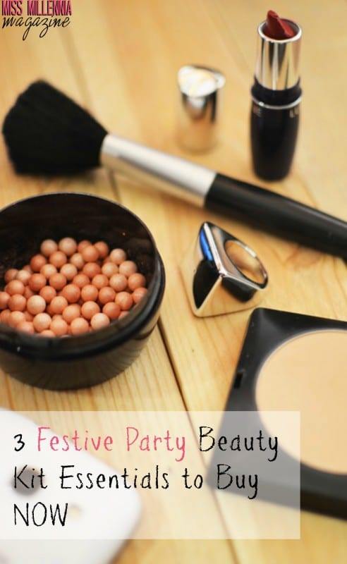 3 Festive Party Beauty Kit Essentials to Buy Now