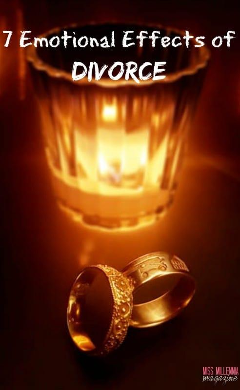 7 Emotional Effects of Divorce