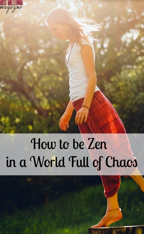 A few ways to be Zen in a world full of chaos includes this promo code YOGA49! @MyYogaWorks #ad #MyYogaWorks, #IC