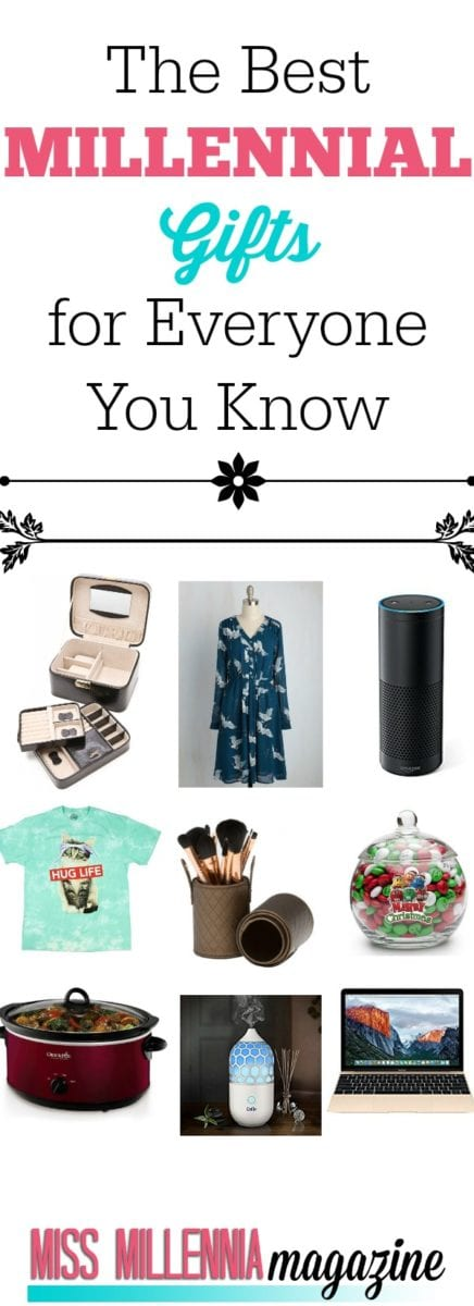 It's that time again! We put together a holiday gift guide of the hottest millennial gifts for everyone on your holiday list this year. Enjoy!