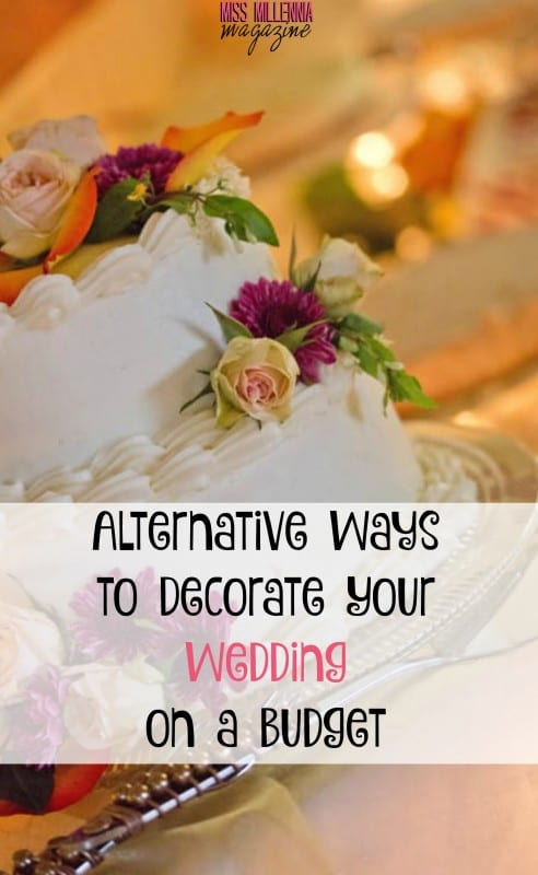 The average wedding costs $35k! No worries, we've found some affordable ways to help you decorate your wedding. Check it out! #MissMillMag