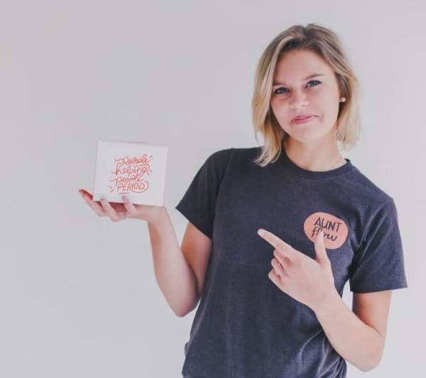 Giving Back #LikeaGirl: Meet the Founder of Aunt Flow, Claire Coder