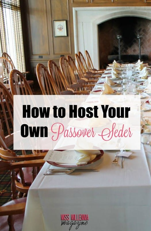 It can be hard to be away from home over the holidays, but we've got some tips for how to host a Passover Seder of your own!