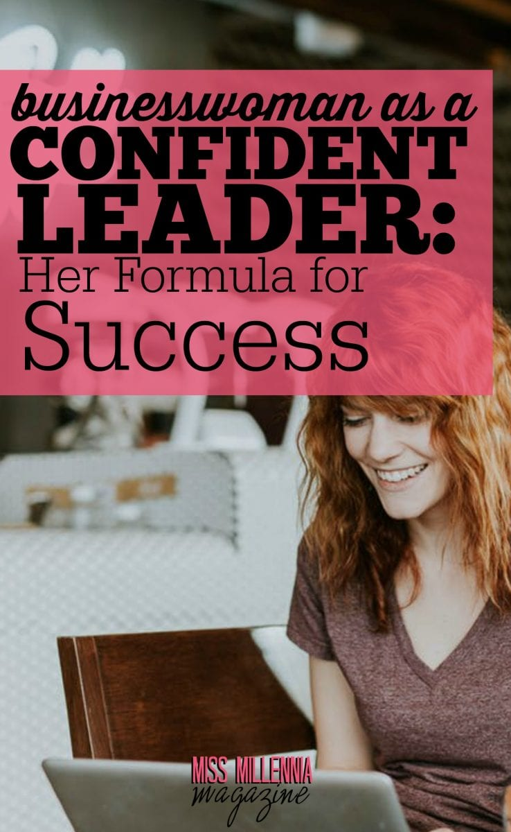 To become a successful businesswoman means to develop a strong personality. In this article, I talk about the formula for success.