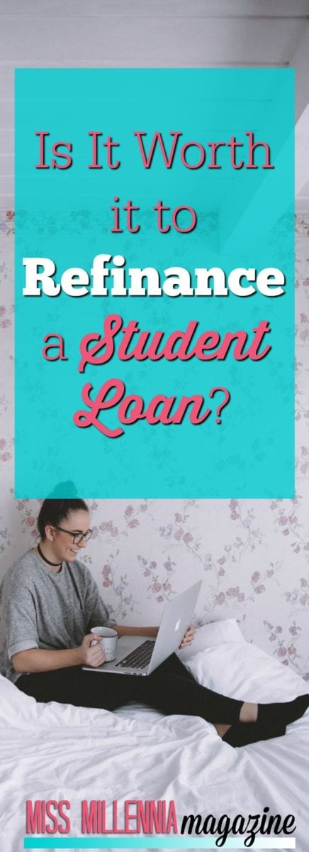 If you are wondering if you should refinance a student loan you should first consider the following items in this post first!