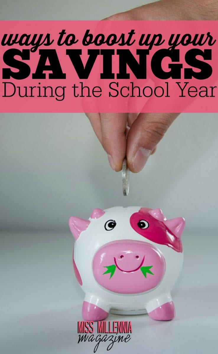Let's face it, saving money while attending school is hard! During your college years, it is necessary to be creative to make and save money. Check out these ways to boost up your savings!