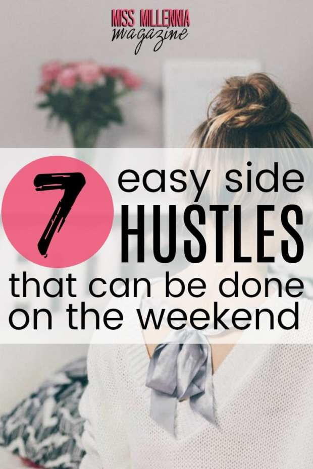 Some side hustles only take a few minutes to get started. Today I want to talk about 7 side hustle's anyone can start this weekend.