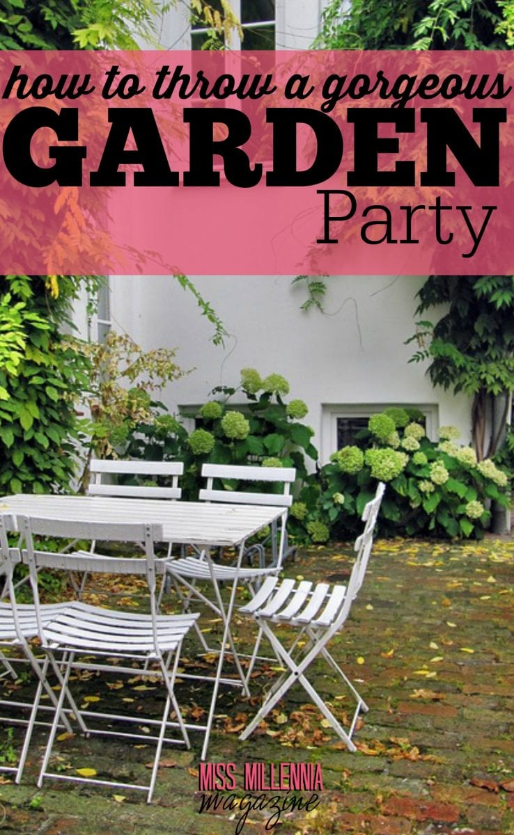 This year, aside from taking full advantage of the sun, a garden party is also on my list of essential summer activities. Here's how I am planning mine.