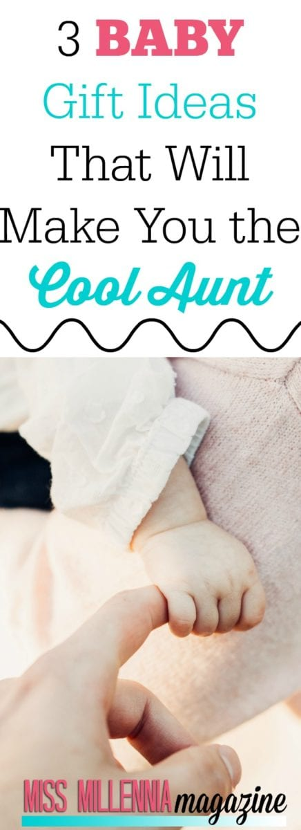 Now that I am going to be an aunt, I plan on being the cool aunt. And I have perfect baby gift ideas that will put you in the cool corner.