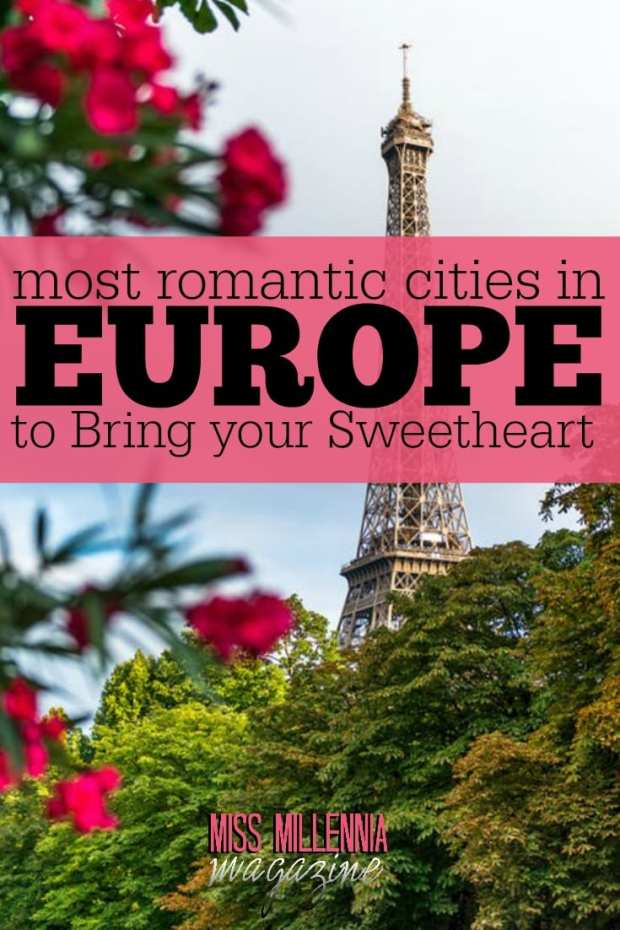 If you're looking to treat that someone special to a holiday, then be sure to make one of the following European romantic cities your top choice.