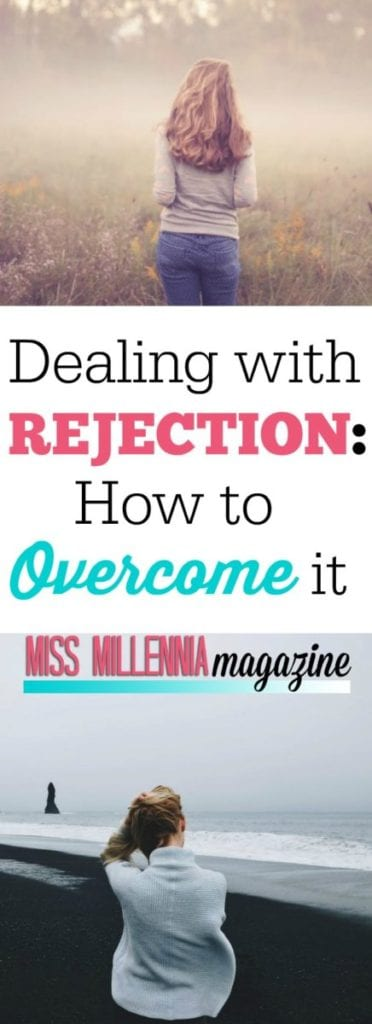 Stomach dropped into your feet? You're dealing with rejection and let's be honest, it sucks. Here's how you can deal with rejection and overcome it.