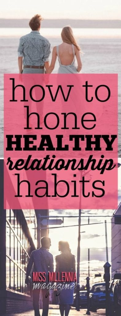 A healthy relationship isn't easy to build. You have to work at it, and be able to recognize when things aren't healthy and can't be salvaged.