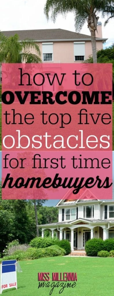 This guide comes from long-established experts in the mortgage industry. Here are 5 obstacles first-time homebuyers must face, and how to overcome them.
