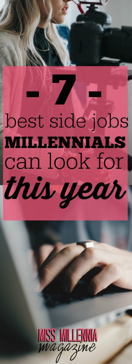 You'll find lots of platforms on which to advertise your services or find paid gigs, these days. Here are best side jobs for millennials in 2017: