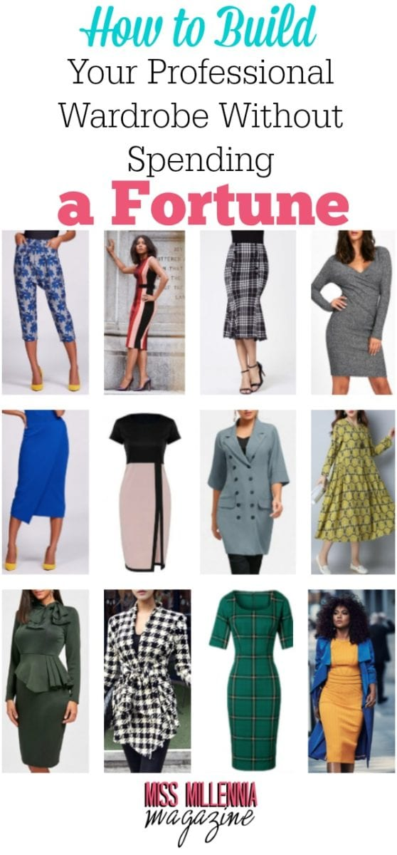 If you are looking to find more clothes for work on a budget, here are 8 options that make it easy to build a professional wardrobe on a budget.