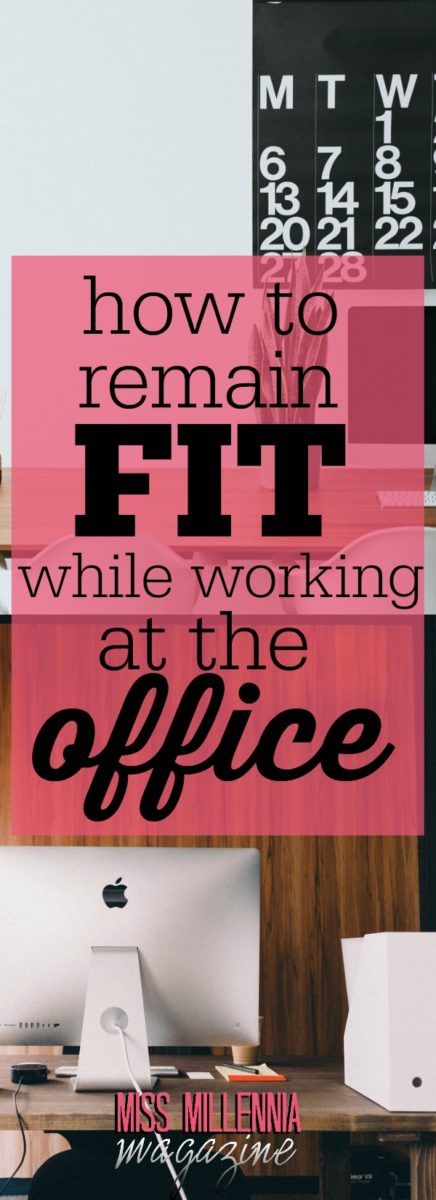 With people getting busier every day with work, these simple tips to remain fit while working, can easily be incorporated into your busy schedule.