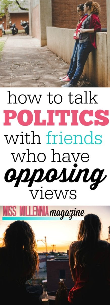 Got a pal who doesn't share your views of the world? Follow our tips on how to talk politics without ruining your friendship.