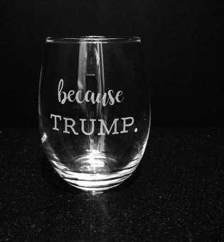Because Trump
