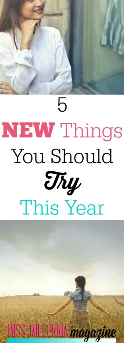 Entering a new year is the perfect opportunity to try some new things. Check out my list of items you should try if you've never tried them before. AD #7charmingsisterspartner
