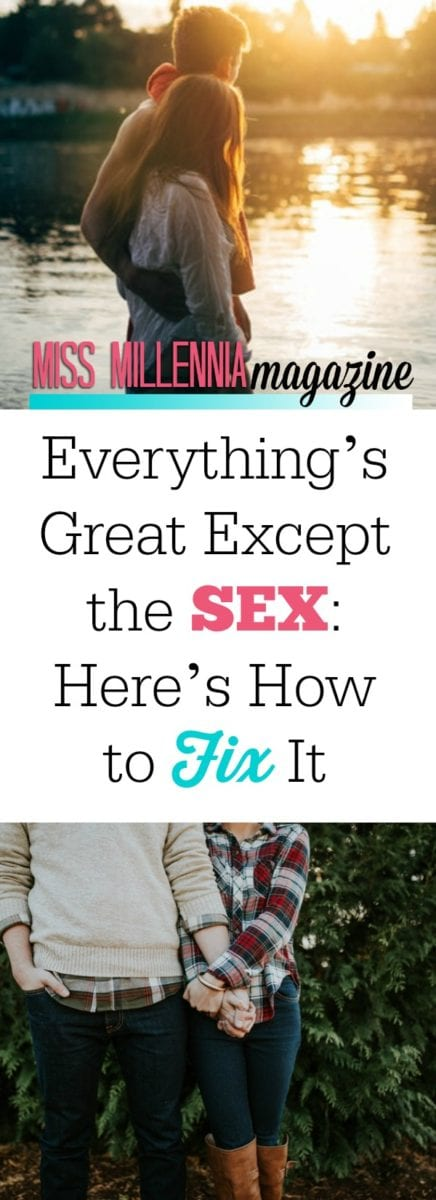Dealing with unfortunate situations in the sack requires careful handling – but you're not alone! Find out what to do if everything's great except the sex.