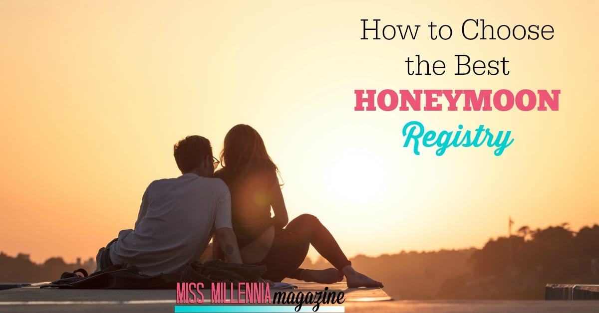 Nowadays, couples hardly need household items when they get married. That's why more and more lovebirds are opting for a honeymoon registry instead.